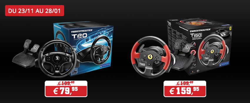 Promotions accessoires Thrustmaster