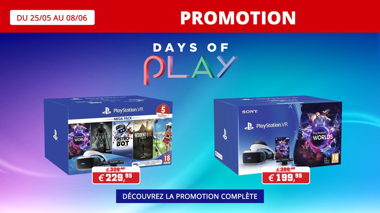 Days of Play 2020 Playstation Pack VR