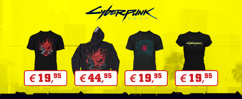 Merchandising Cyberpunk 2077