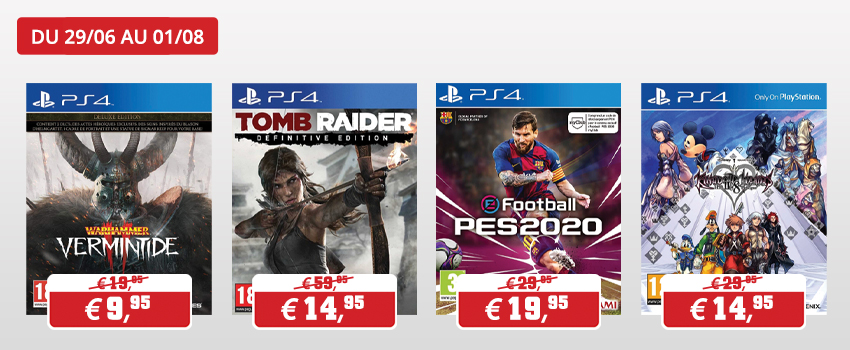 Promotions Petits prix Playstation