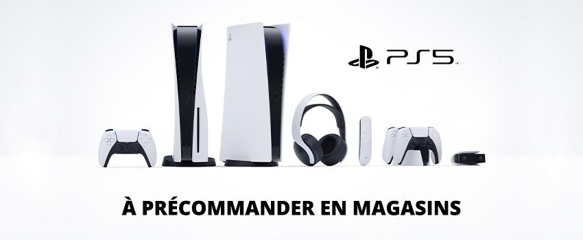 Découvrez la Playstation 5