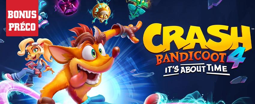 Précommandez Crash Bandicoot 4 : It's About Time
