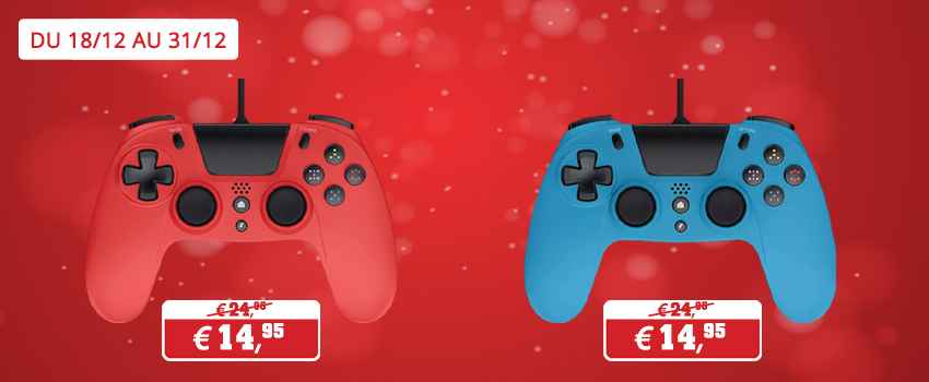 Promotions accessoires Gioteck