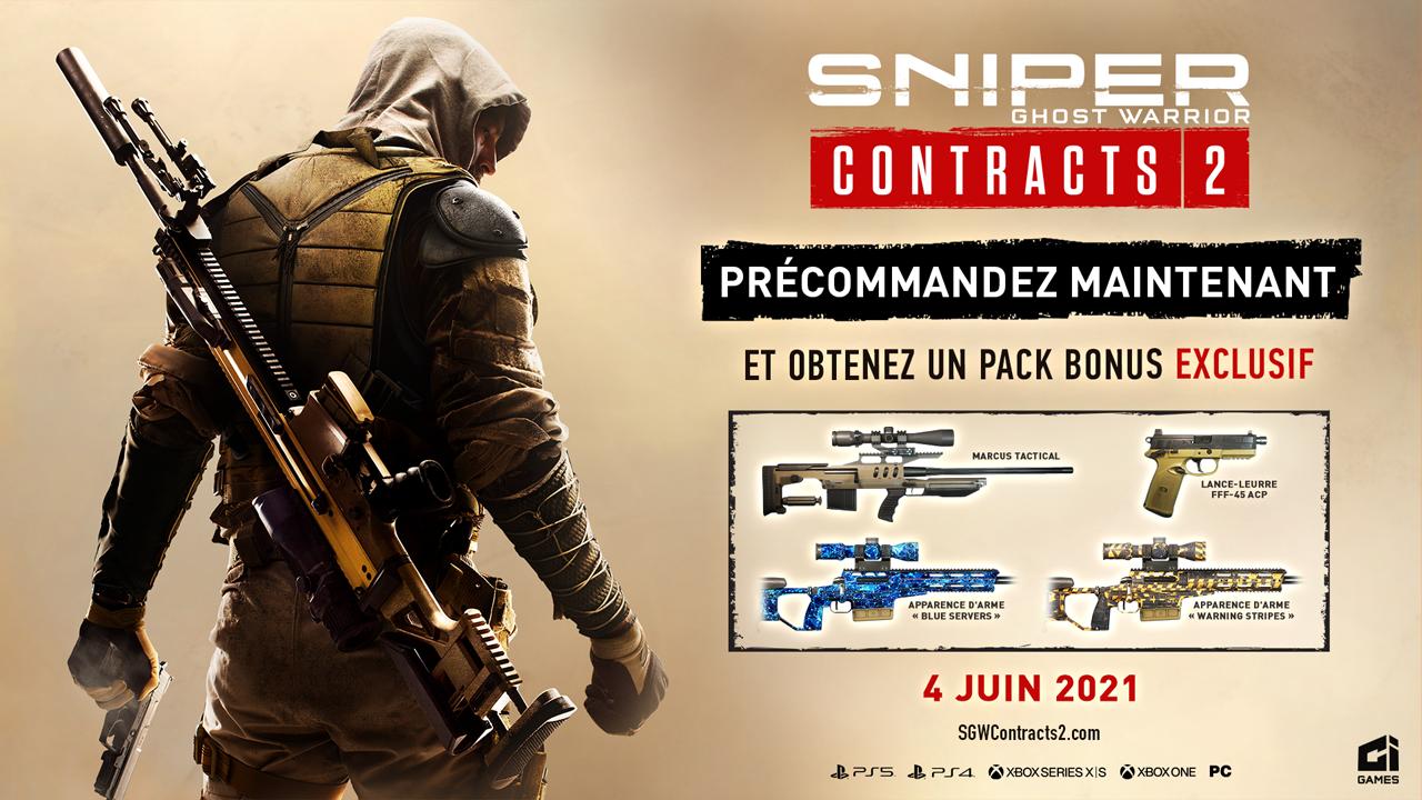 Précommandez Sniper Ghost Warrior Contracts 2