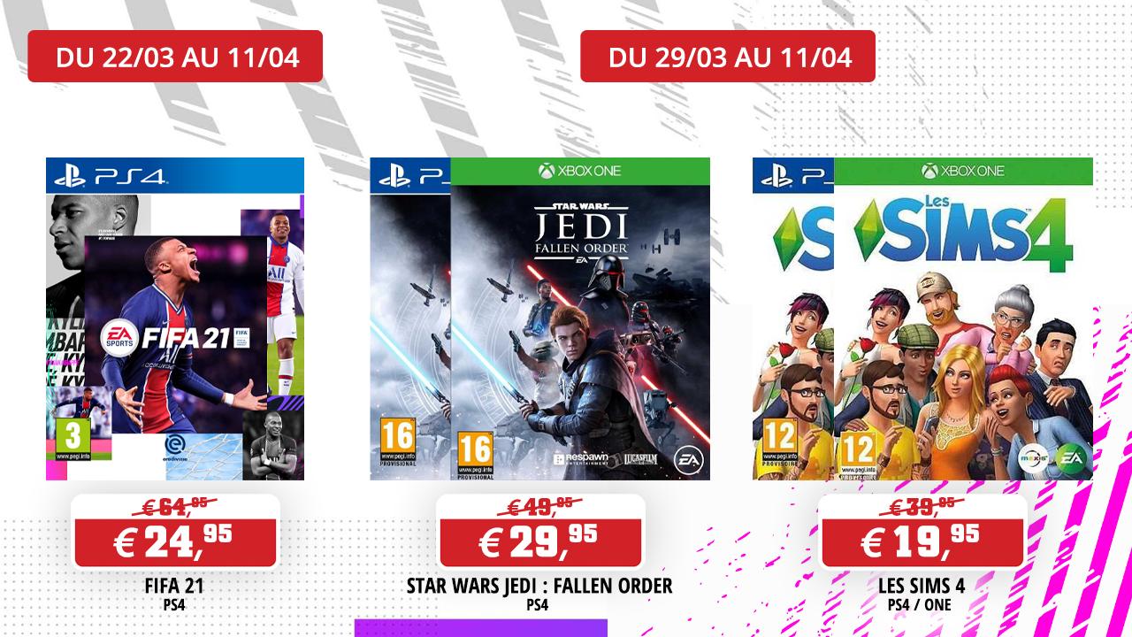 Jeux EA Games en promotion !