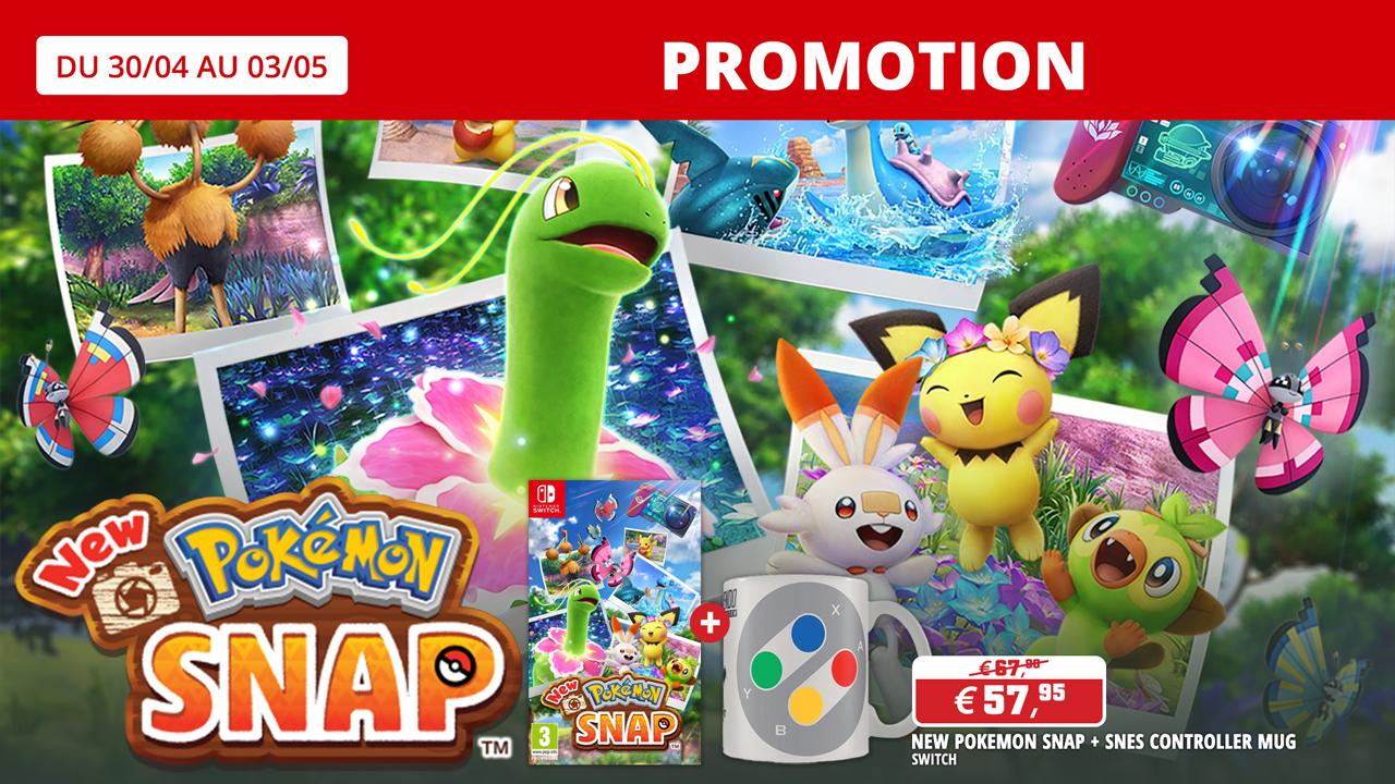 Précommandez Pokémon Snap et recevez un bonus préco.