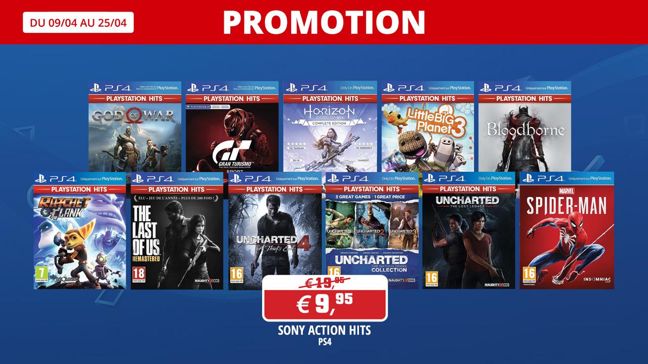 Jeux Sony à prix cassés
