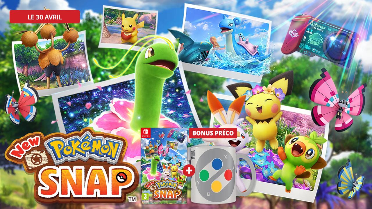 Précommandez New Pokémon Snap et recevez un bonus préco !