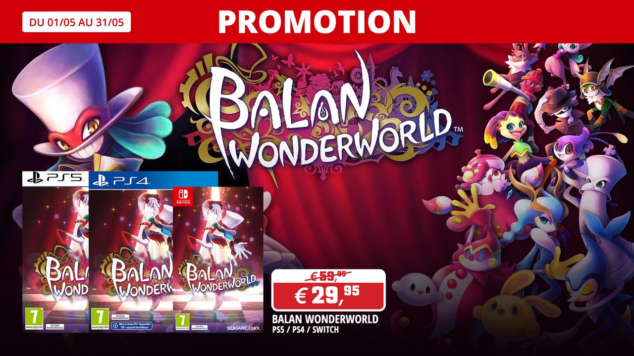 Balan Wonderworld en promo !