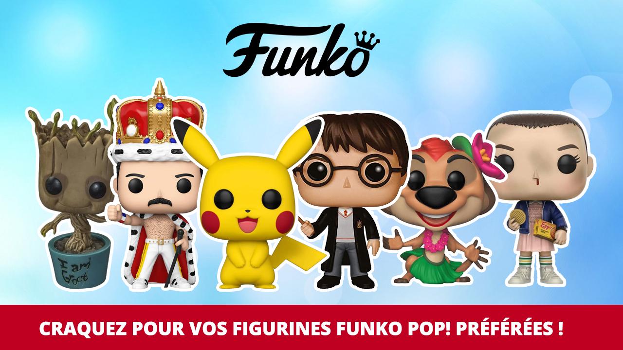 Tous vos univers préférés chez Funko Pop!