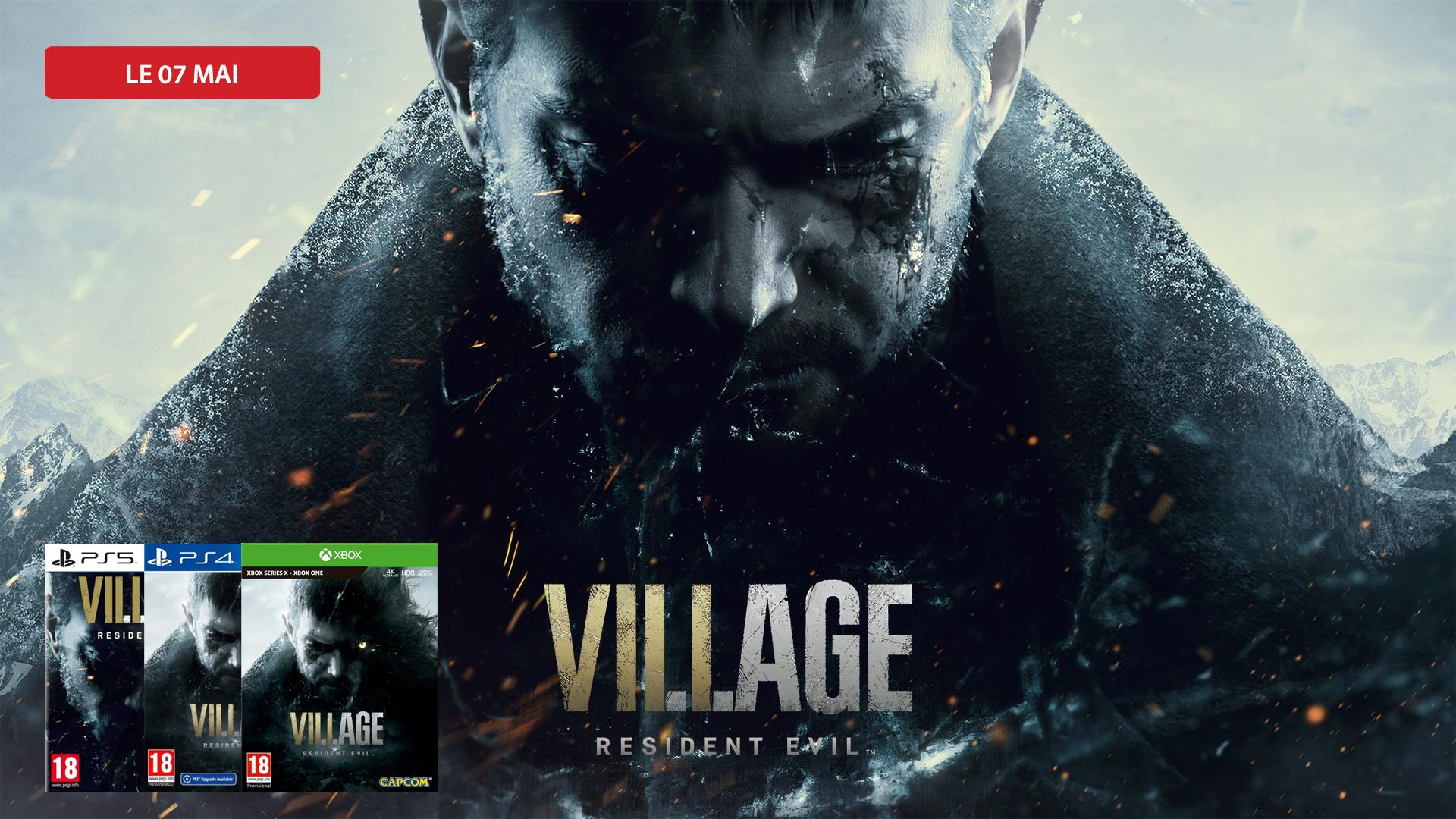 Précommandez Resident Evil : Village