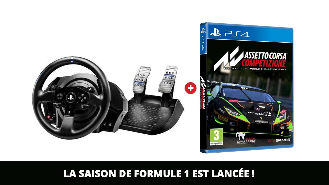 Saison de Formule 1 lancée !