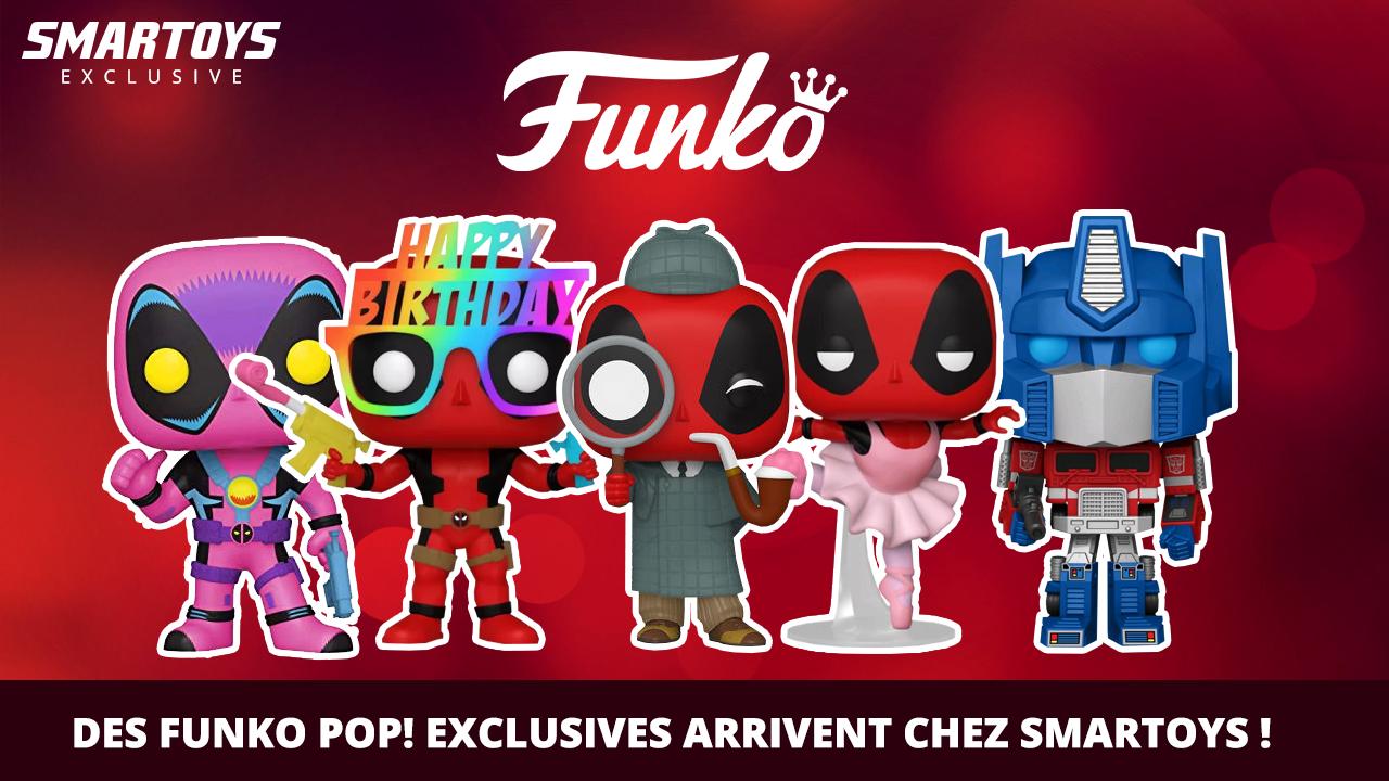 Des Funko POP! exclusives arrivent !