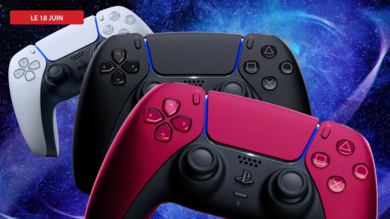 Craquez pour ces nouvelles couleurs de controllers PS5 !