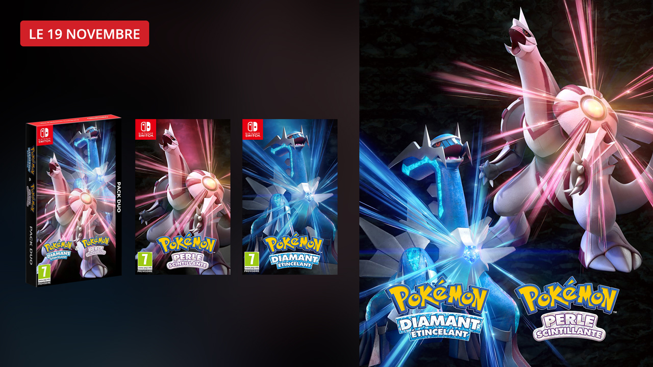 Précommandez le nouveau jeu Pokémon dès maintenant !