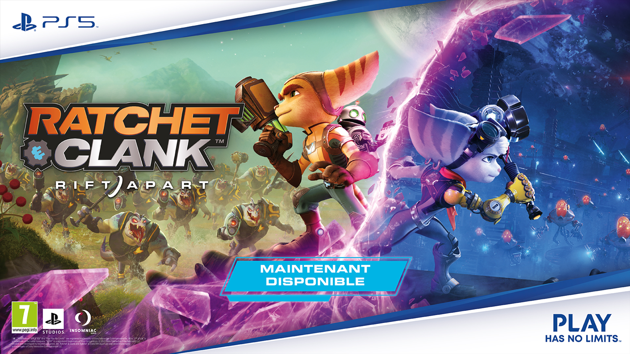 Ratchet & Clank : Rift Apart est disponible !