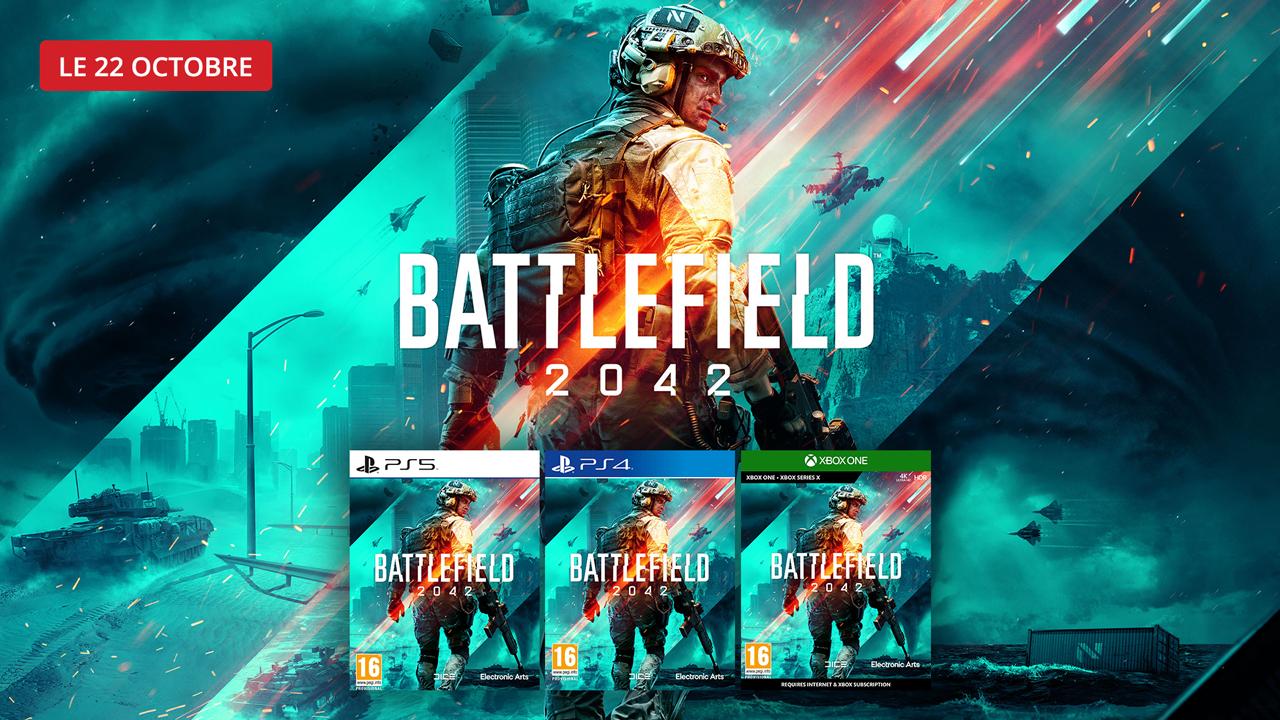 Précommandez Battlefield 2042 dès maintenant !