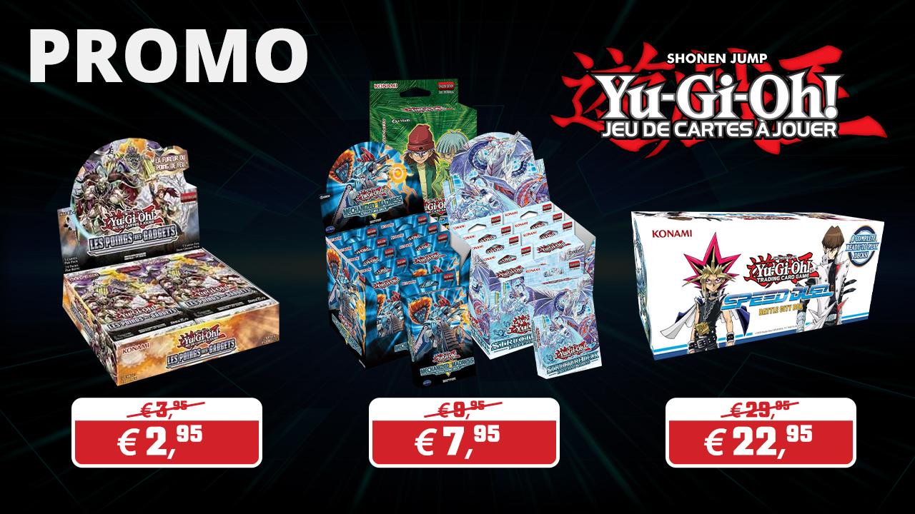 Cartes Yu-Gi-Oh en promo !