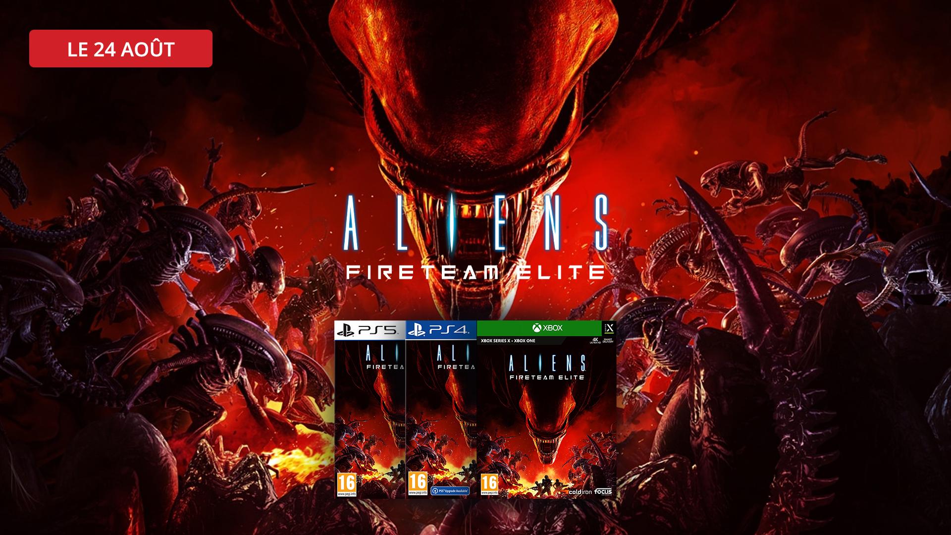 Alien fire team