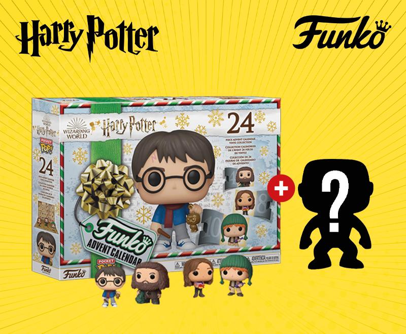 Image du Calendrier de l'Avent Funko Pop Harry Potter