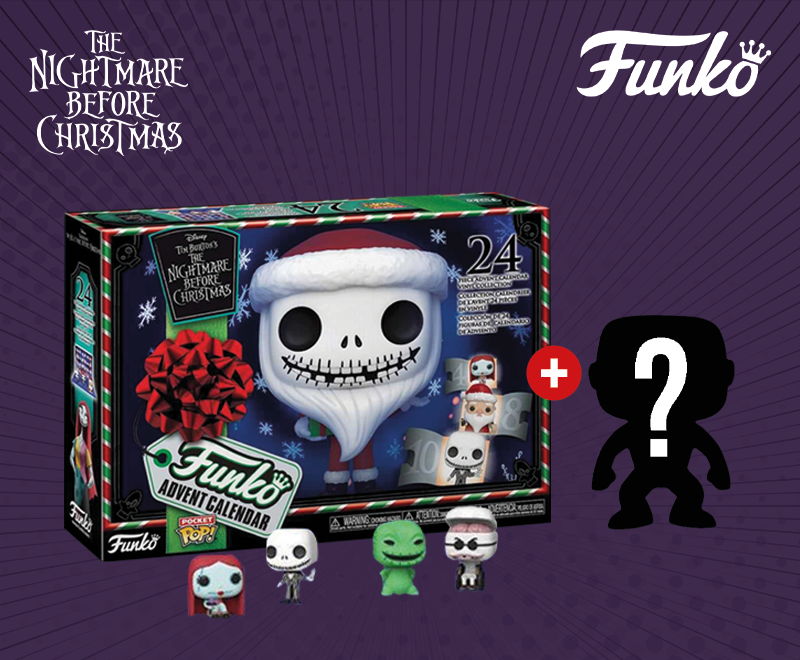 Image du Calendrier de l'Avent Funko Pop The Nightmare Before Christmas