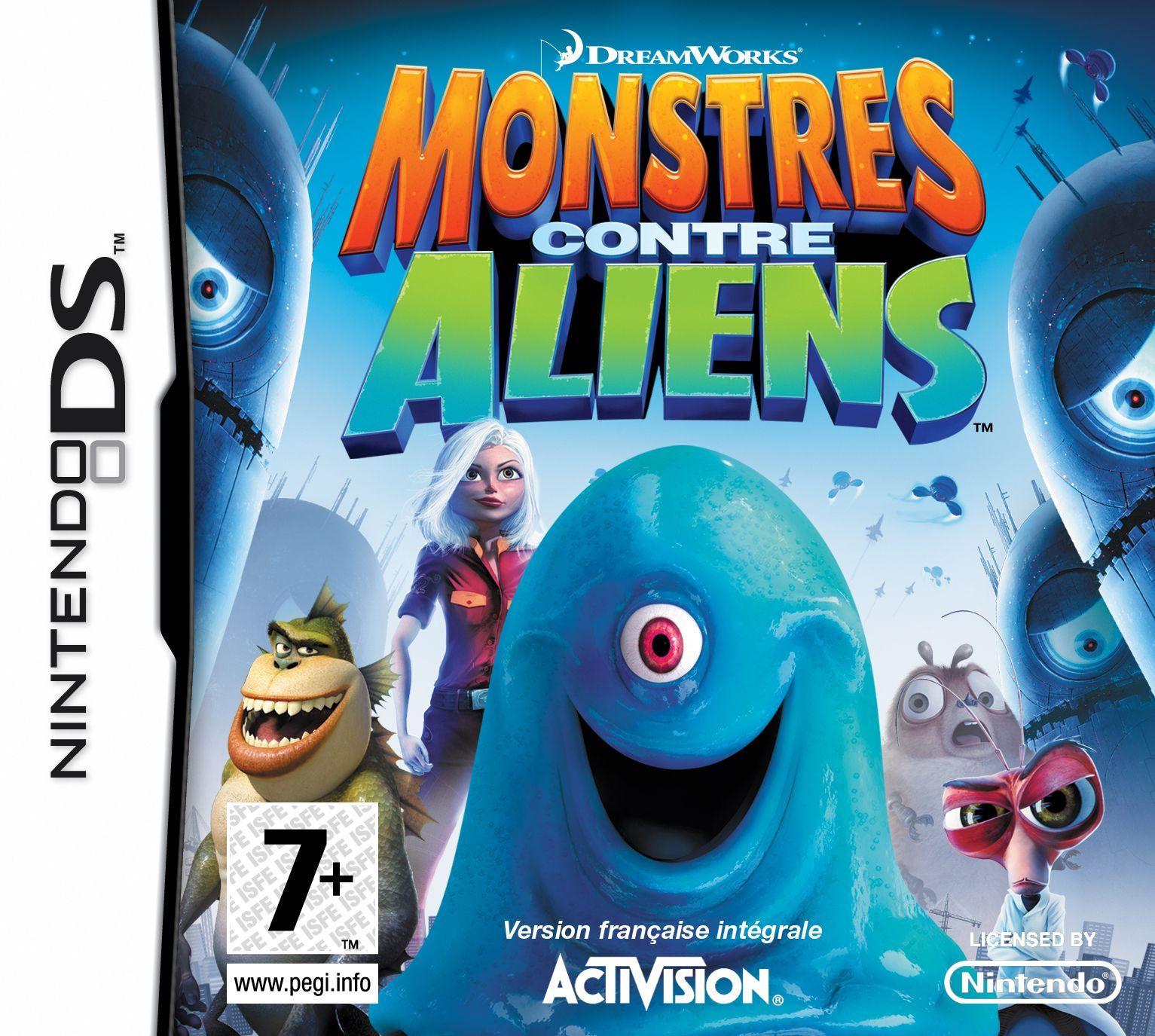 Monstres contre Aliens DS